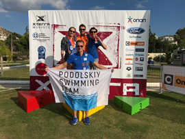 Hаші переможці Xterra Swimming Challange 2017